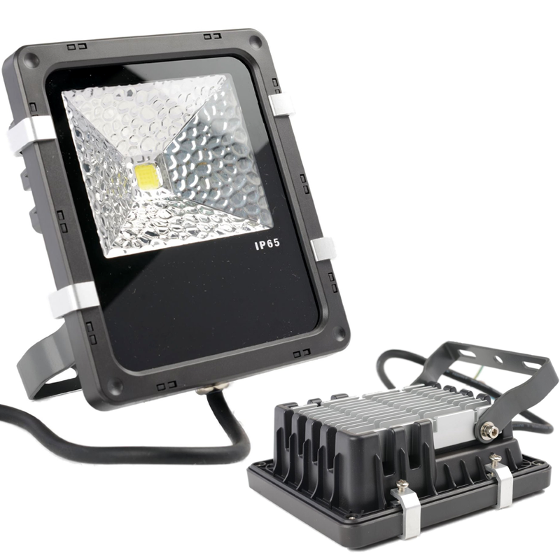 10W High Power LED Flood Light with Aluminium Heat Sink in IP65 for Outdoor Use