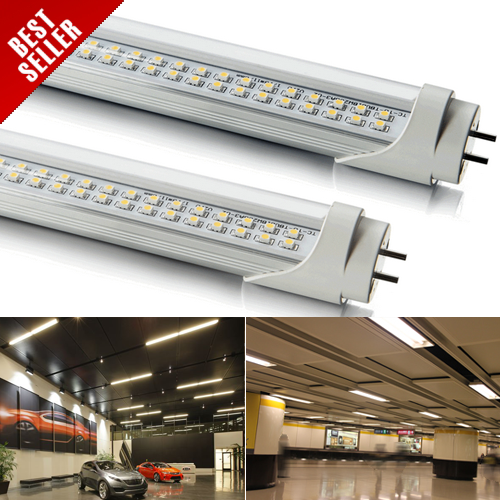 FREE SHIPPING DHL 8pcs 8 feet (2381mm) SMD LED Fluorescent Tube Lamp T8 33W