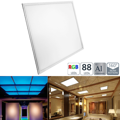 36W RGB LED Panel Light Fixture - 2ft x 2ft