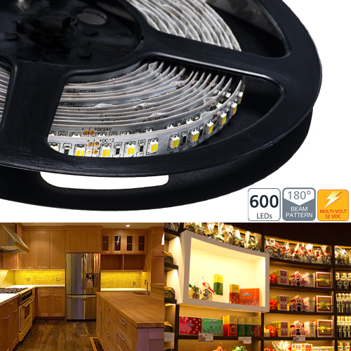 Dual Chip LED Variable Color Temperature LED Flexible Light Strip - NFS-DW600X-12V