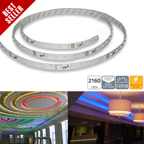 NFSS-1200x-24V series 1200 High Power LED Flexible Light Strip - 20m