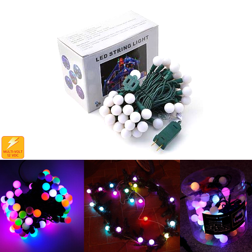 Color change LED ball string lights belt lights