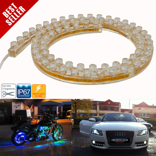 Waterproof LED Motorcycle / Car Flexible Light Bar