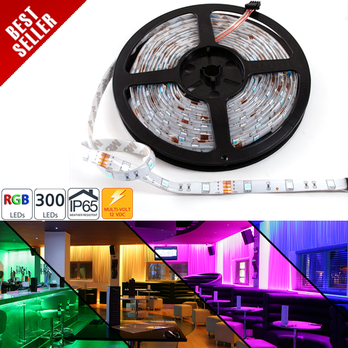 WFLS-RGBX300T series High Power RGB LED Weatherproof Flexible Light Strips