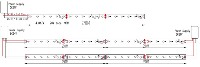 12v Led Strip Wiring Diagram
